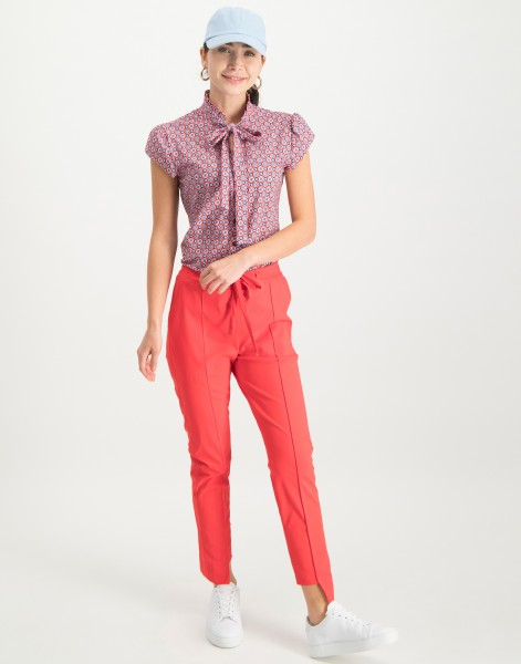 Jane Lushka - Hose Lilli Asymmetrical Pants Red