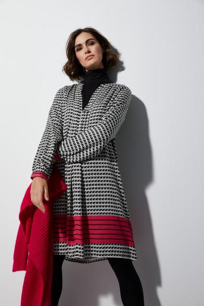 Milano Italy - Kleid, Weiß-Schwarz