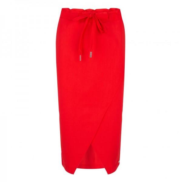 Jane Lushka - Rock Edie Drawstring Skirt Red