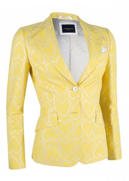 Cavallaro Napoli - Blazer Venosa Yellow Off White