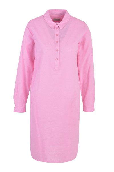 Milano Italy - Dress with collar, rosé