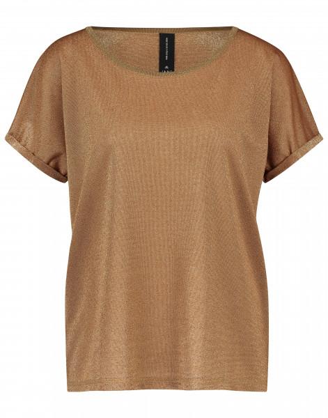 Jane Lushka - T-Shirt Hope, Cognac