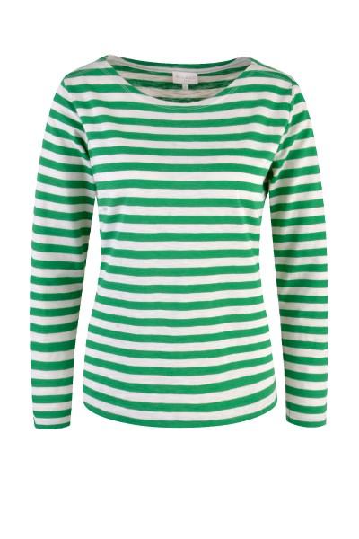 Milano Italy - Long-sleeved Shirt, Green striped